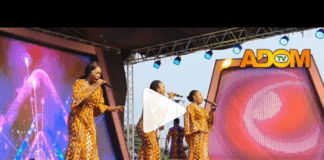 Daughters of Glorious Jesus opens up show with great performance